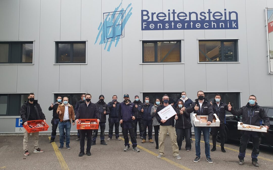 Jubiläums-Znüni der Breitenstein Diepflingen AG
